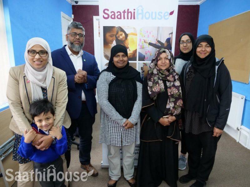 Refugee Week 2019 Saathi House stock image
