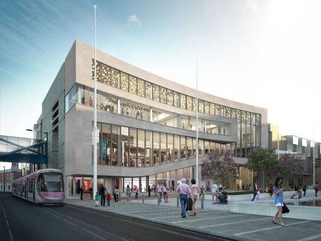 How the revamped Symphony Hall facade could look following a funding boost