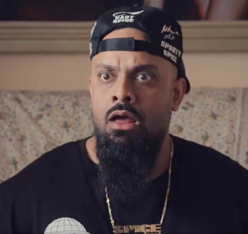 Guz Khan appears in the new Walkers crisps advert alongside the Spice Girls