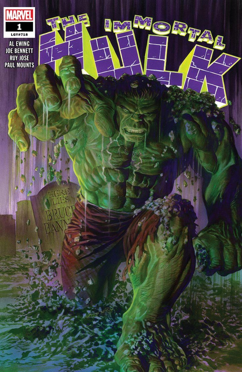The Immortal Hulk, writer by NACC guest, Al Ewing