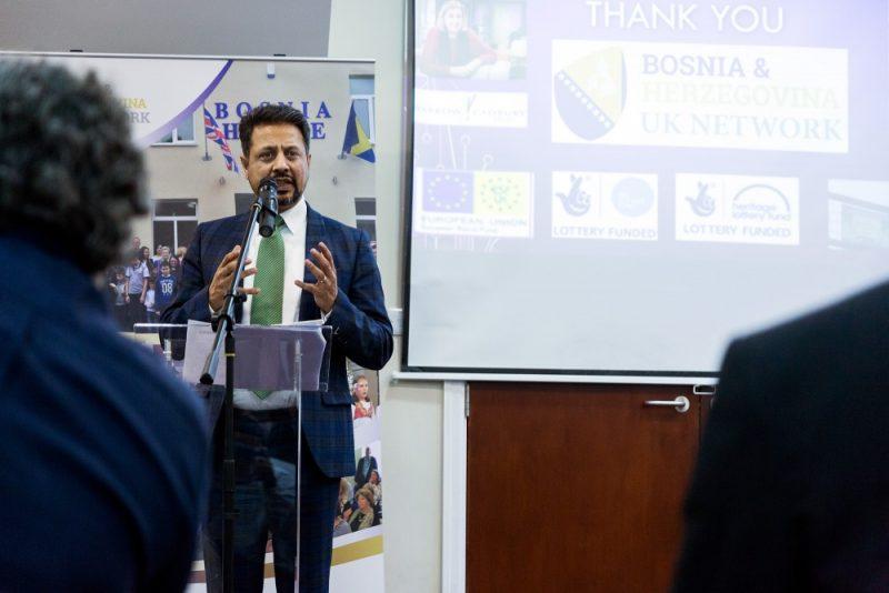 © Paul Stringer (www.paulstringer.co.uk) Dr Waqar Azmi OBE reflects on the partnership between Remembering Srebrenica and the Bosnia and Herzegovina UK Network.