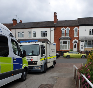 Bomb disposal unit descends on Small Heath house in Birmingham