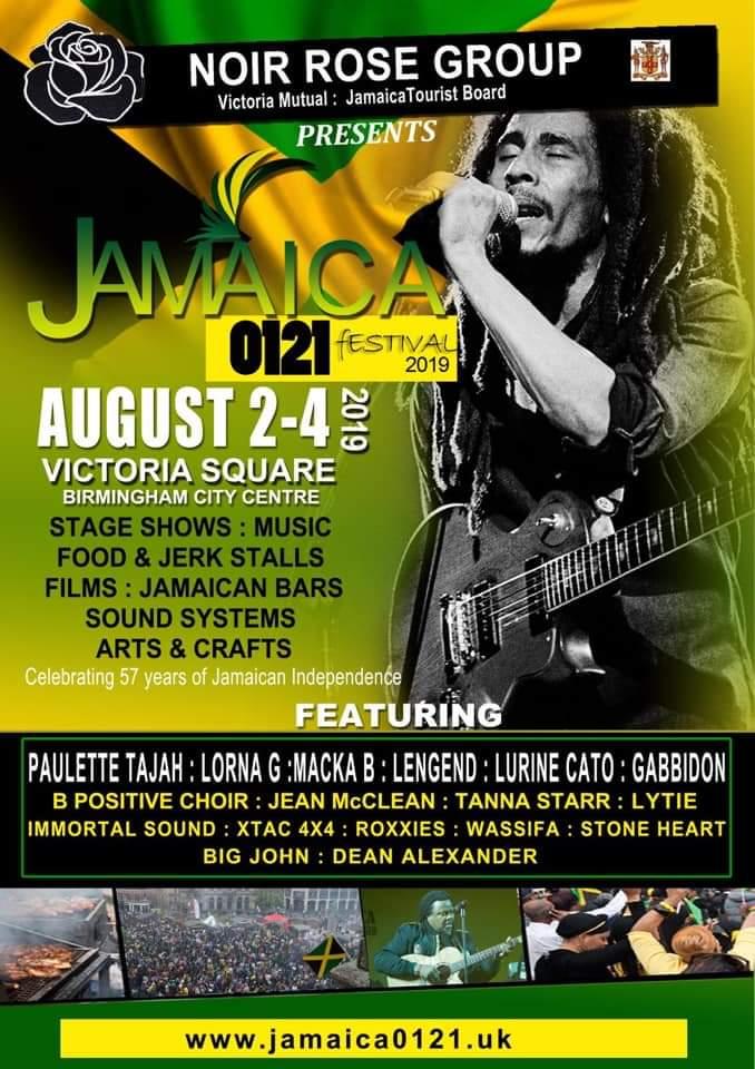 Jamaica 0121 in Birmingham August 2019