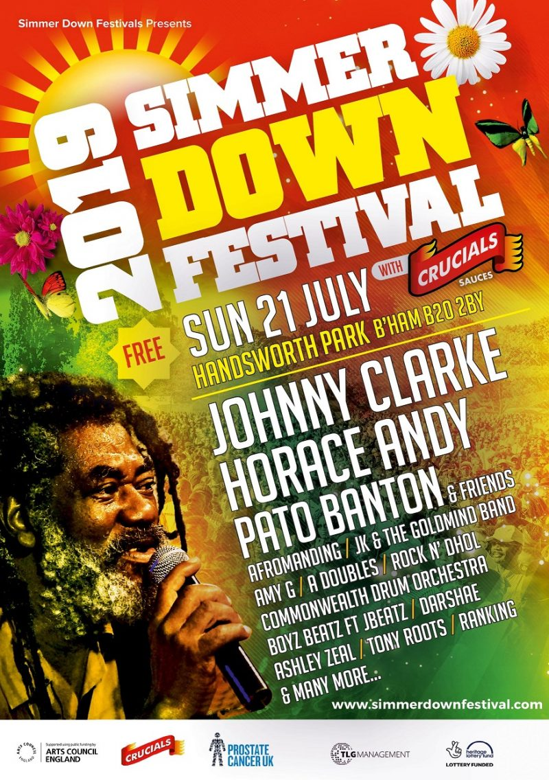 Simmer Down Festival 2019 official publicity flyer