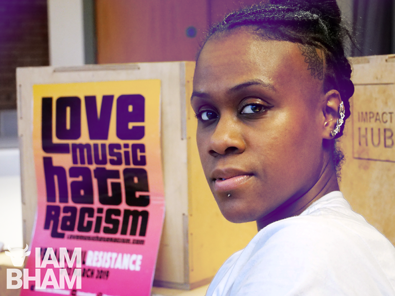 Zara Sykes will be performing on the Love Music Hate Racism stand at Jamaica 0121
