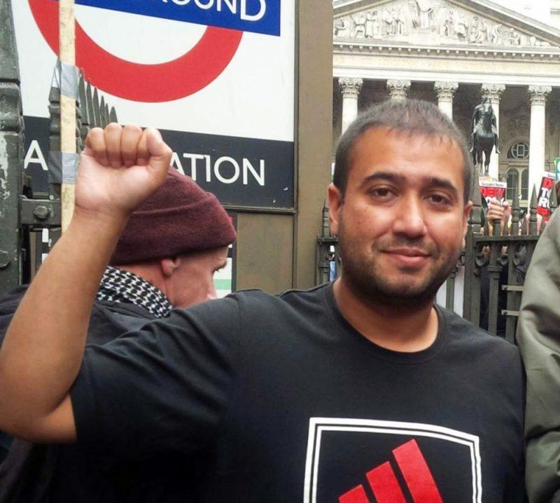 Political activist Abu Alamgir from Birmingham