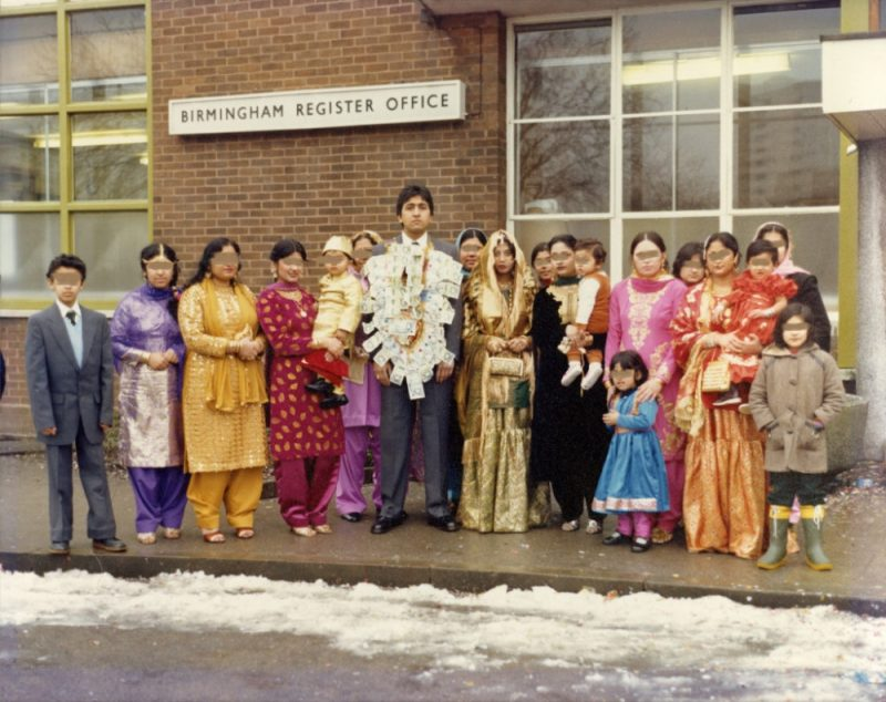 British Pakistanis in the 1980s from the 'Locating Home' archives by Birmingham photographer Maryam Wahid