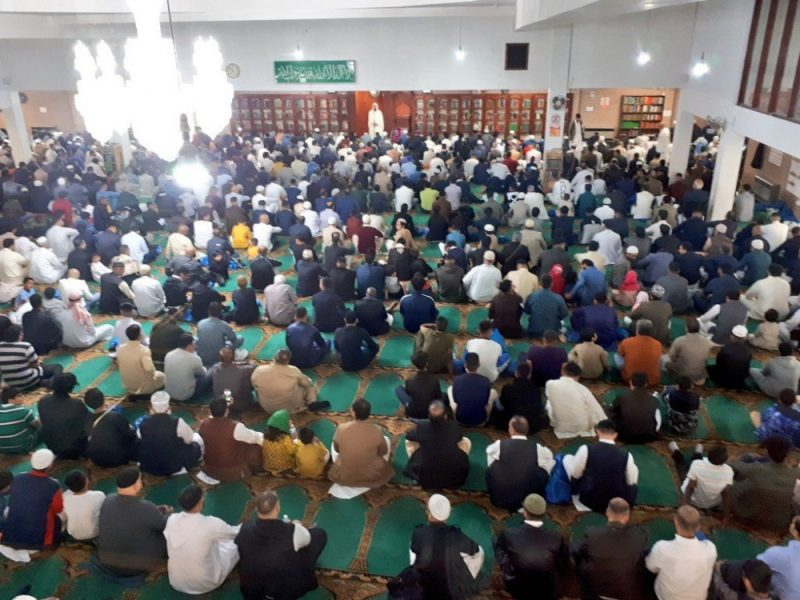 Thousands gather at Birmingham Central Mosque during busy periods