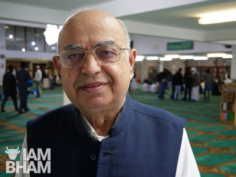 Muhammad Afzal, chairman of Birmingham Central Mosque