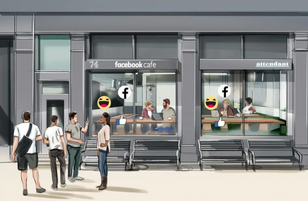 Facebook is opening several cafés in London to encourage privacy checks