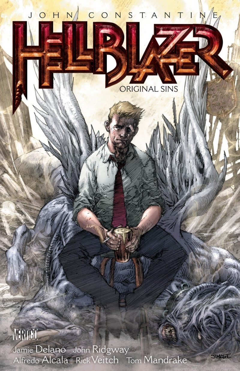 Hellblazer by writer Jamie Delano