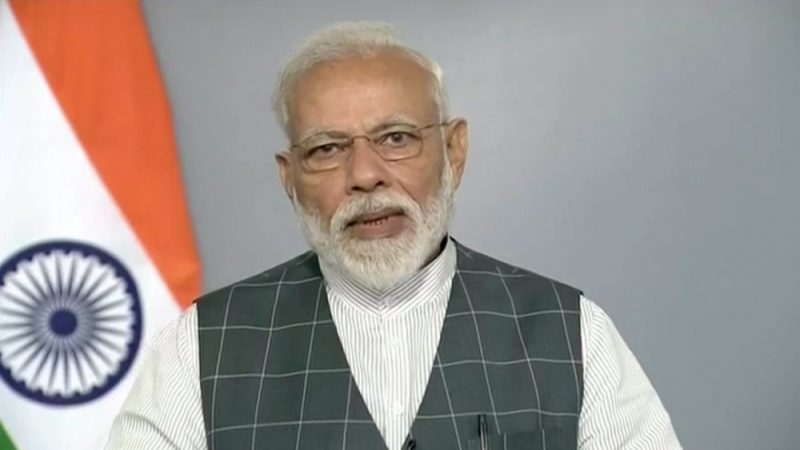 Narendra Modi, the Prime Minister of India