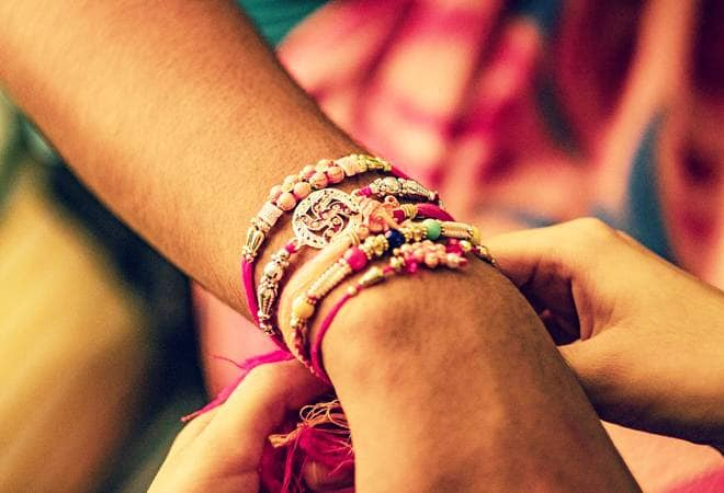 Raksha bandhan is an Indian festival that celebrates the love between sister and brother. It is also celebrated between any female and any male, regardless of age, to mark their sacred sister-brother like protective and respectful relationship.
