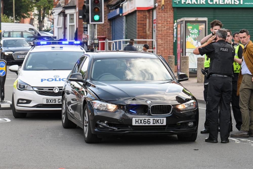 Man arrested in Sparkbrook for attempted murder of police officer