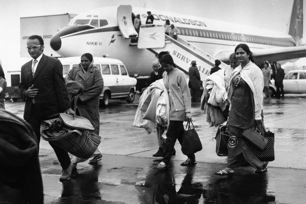 In 1972, Ugandan president Idi Amin gave the nation's 50,000 Ugandan Asians 90 days to leave the country; 27,000 of whom ended up in Britain despite the then Conservative government initially not wanting to grant them asylum