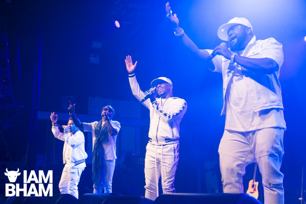 R&B Legends 112, Dru Hill Joe prform live at the 02 Academy in Birmingham by Lensi Photography