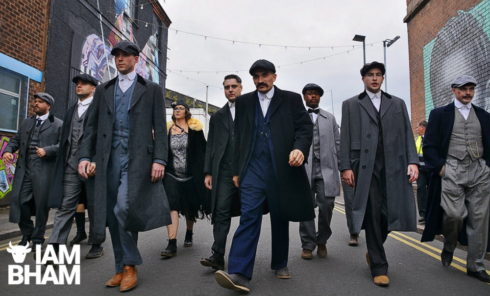 Peaky Blinders festival takes over Digbeth for a weekend of Peaky delights
