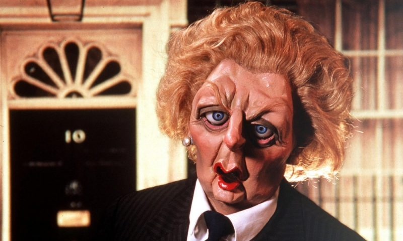 Spitting Image Margaret Thatcher