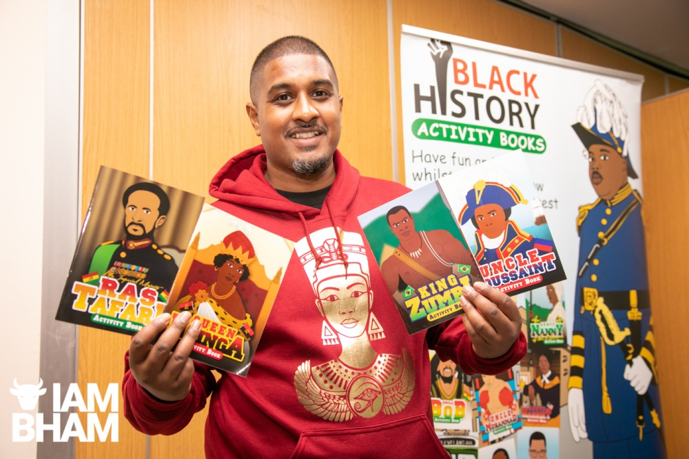 Educational activity books launched for Black History Month