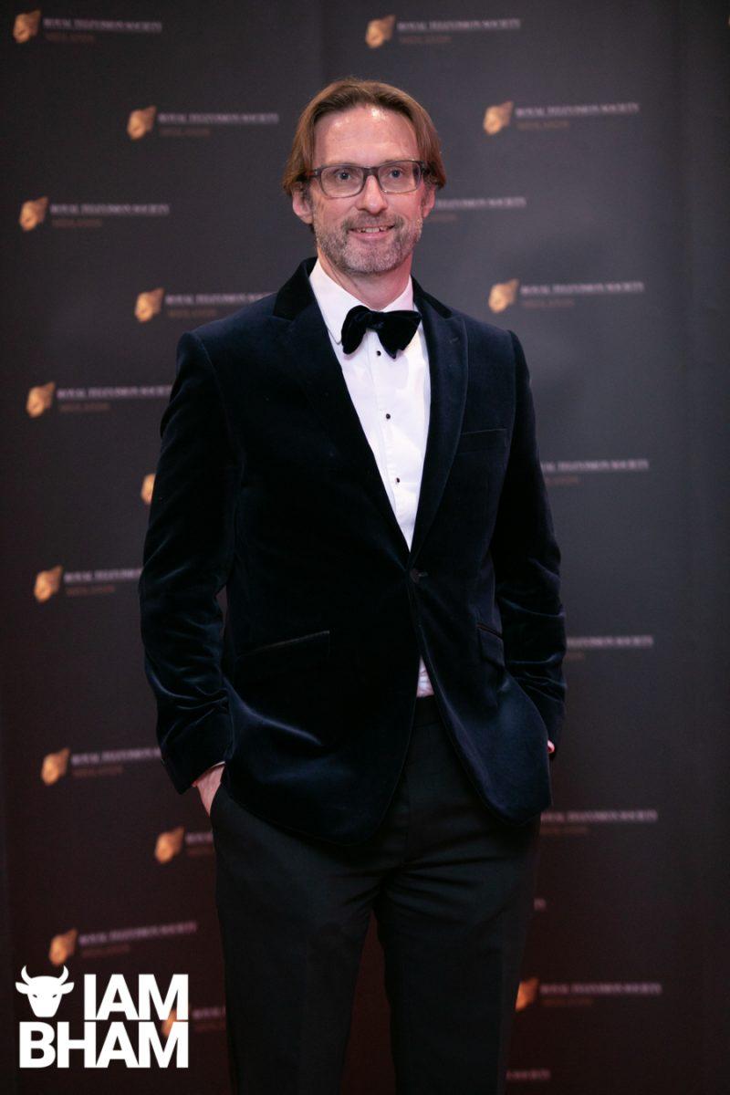 Stars on the red carpet at the Royal Television Society Midlands Awards, in Birmingham. UK. 29th November 2019 Ed Shedd