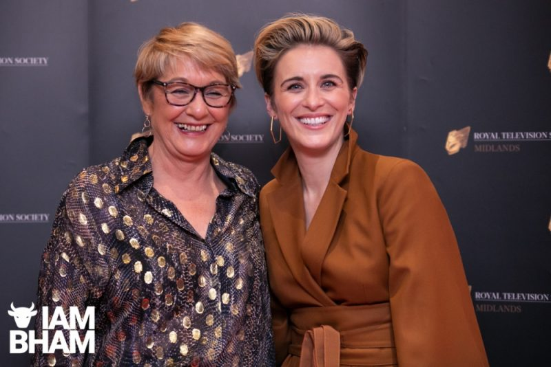 Stars on the red carpet at the Royal Television Society Midlands Awards, in Birmingham. UK. 29th November 2019 Actor Actress Vicky McClure