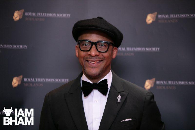 Stars on the red carpet at the Royal Television Society Midlands Awards, in Birmingham. UK. 29th November 2019 Presenter Jay Blades
