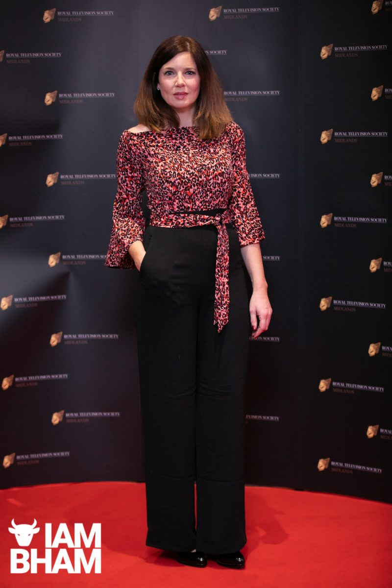 Stars on the red carpet at the Royal Television Society Midlands Awards, in Birmingham. UK. 29th November 2019