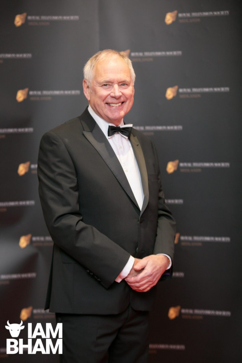 BBC Midlands Today presenter Nick Owen at last year's RTS Midlands Awards