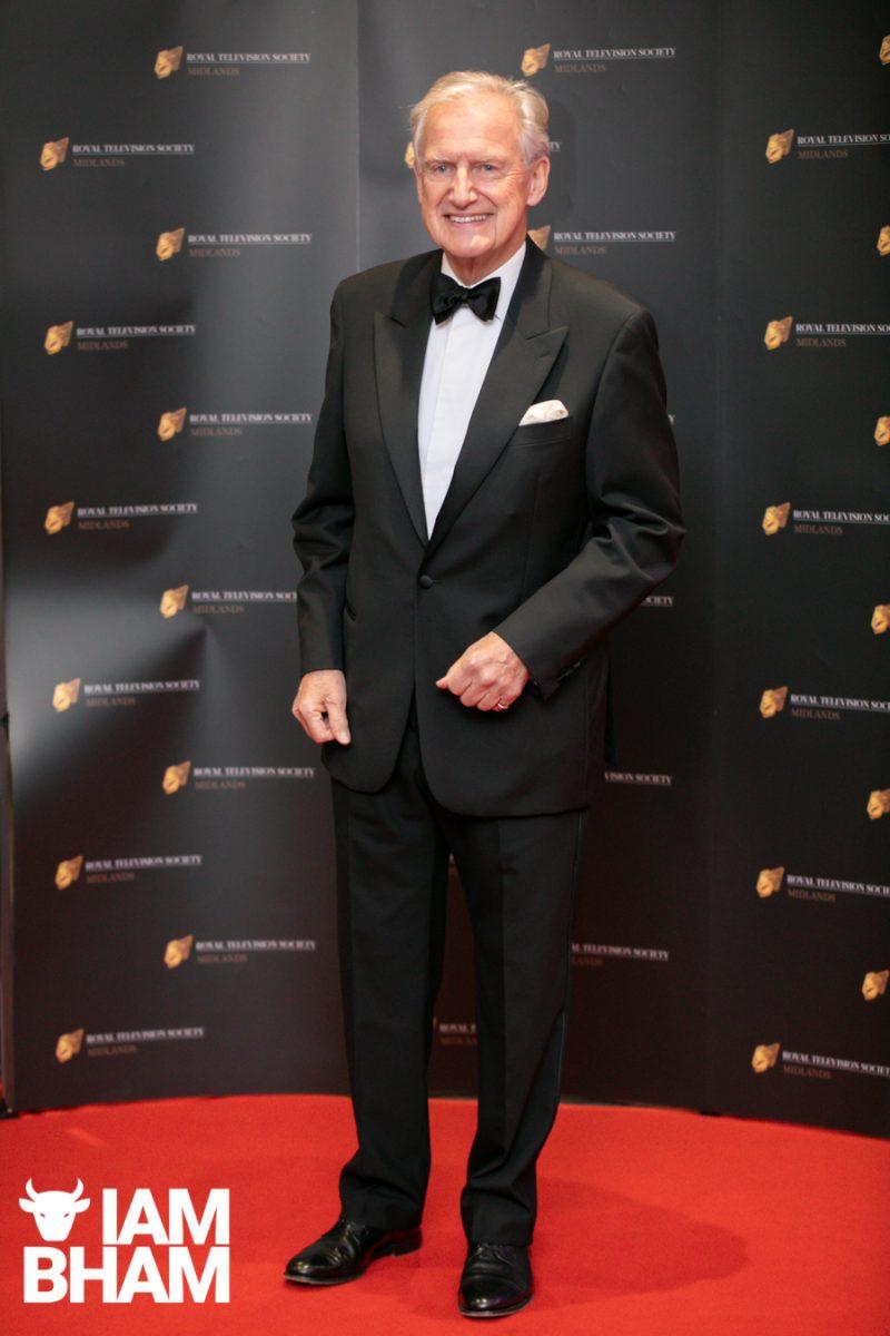 Stars on the red carpet at the Royal Television Society Midlands Awards, in Birmingham. UK. 29th November 2019 ITV Central News Bob Warman