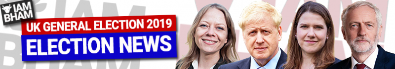General Election 2019 'I Am Birmingham' Election News banner