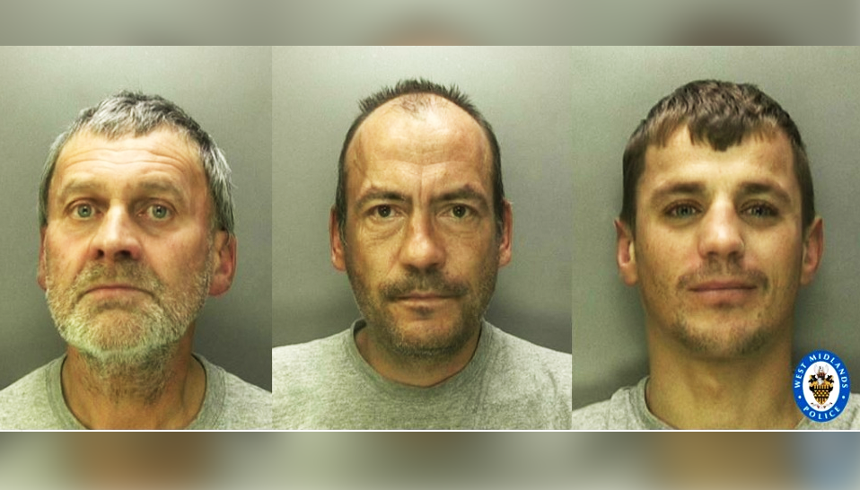 Three convicted of brutally murdering homeless man in Birmingham