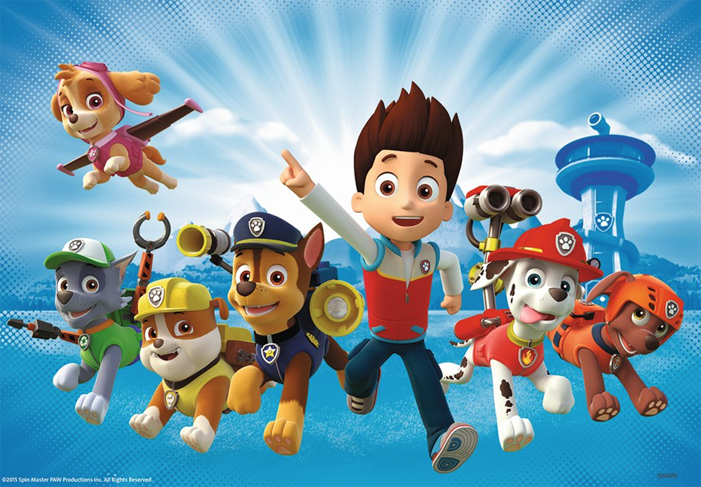 Cameras at the Ready as Chase, Marshall, Rubble and Skye from Paw Patrol to visit Star City!