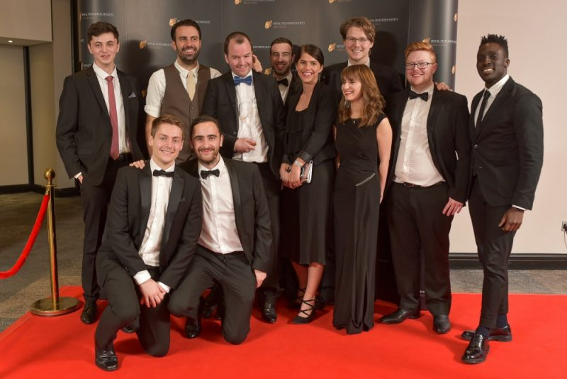 Stars on the red carpet at the Royal Television Society Midlands Awards, in Birmingham. UK. 29th November 2019 Royal Television Society