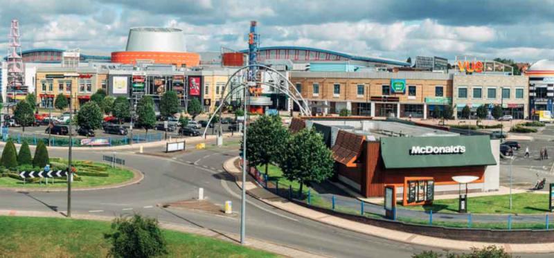 The Star City leisure complex in Birmingham