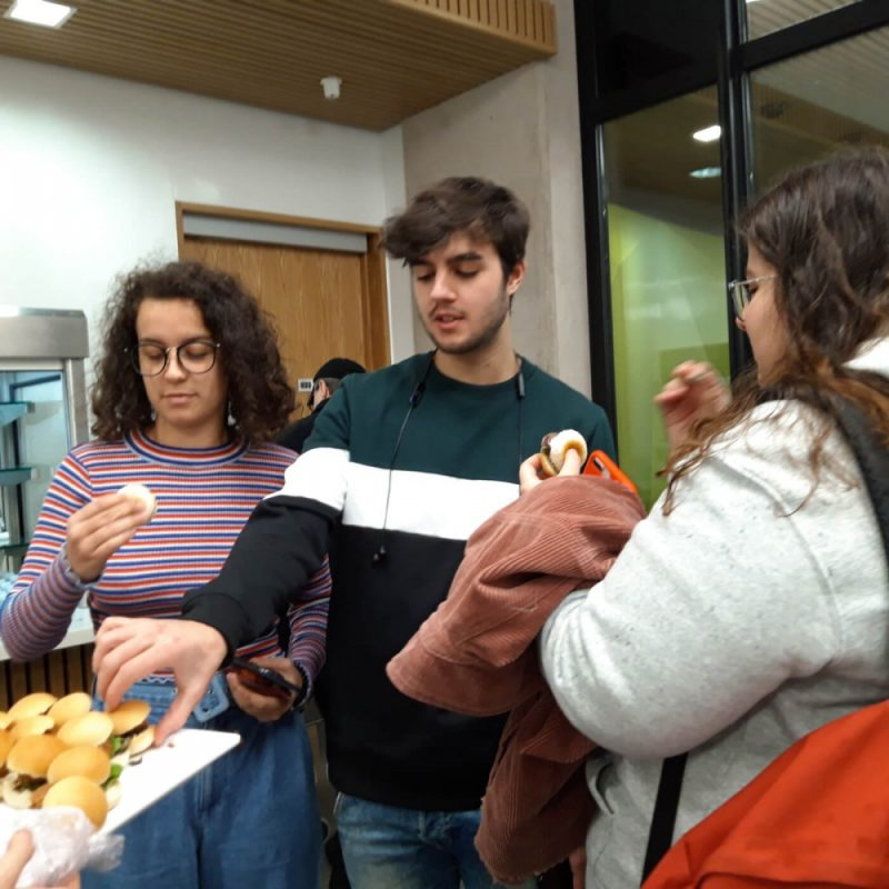 "University College Birmingham teamed up with groundbreaking vegan food company Beyond Meat for an event titled ""Taste the Future"""
