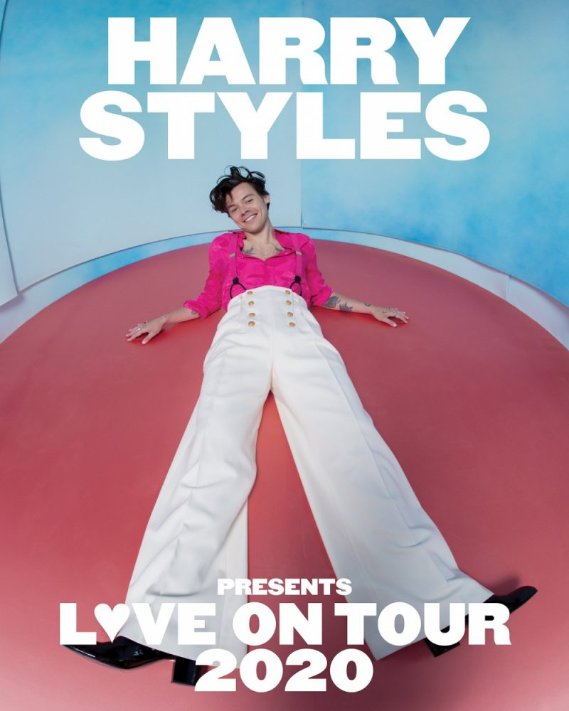 Harry Styles is launching his international 2020 tour at Arena Birmingham