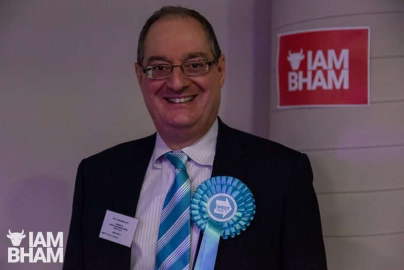 Brexit's Birmingham Northfield MP candidate Keith Rowe