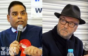VIDEO: George Galloway and Khalid Mahmood lock horns at Birmingham hustings