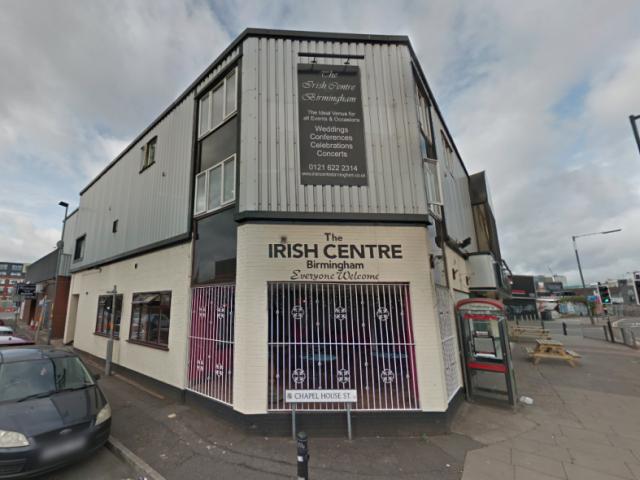 The Irish Centre in Birmingham to close in January 2020 c