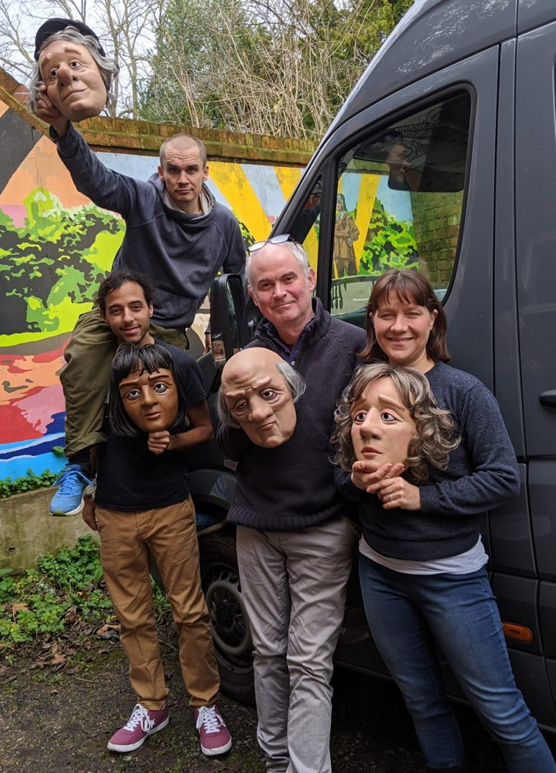 'Dead Good' tours across the UK visiting 23 theatres including venues in Worcester, Wolverhampton, Edinburgh and Inverness