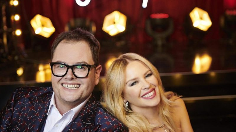 Alan Carr and Kylie joined forces for Kylie's Secret Night