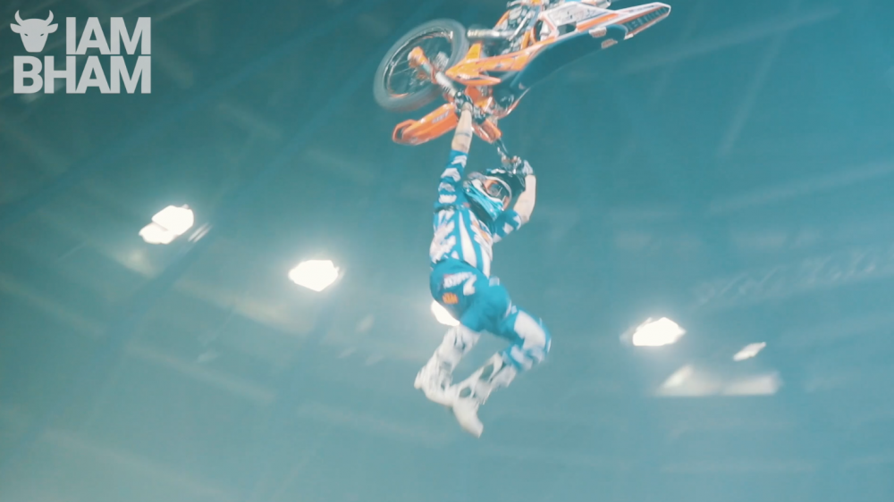 VIDEO: Arenacross 2020 lands in Birmingham for motocross extravaganza