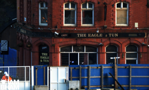 Fire tears through iconic UB40 Eagle and Tun pub in Digbeth