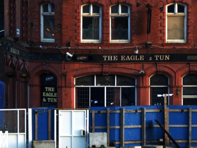 Fire tears through iconic UB40 Eagle and Tun pub in Digbeth