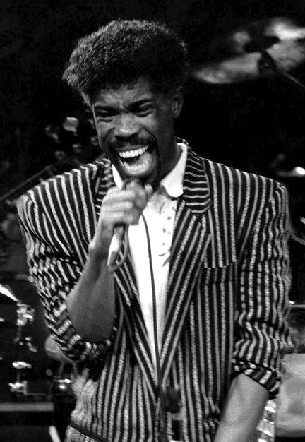 Billy Ocean performing live in New York in 1988