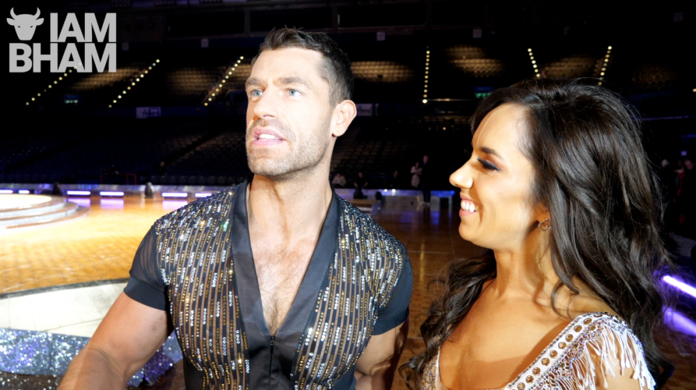Kelvin Fletcher and his new partner Janette Manrara ahead of the Strictly Come Dancing Live Tour in Birmingham