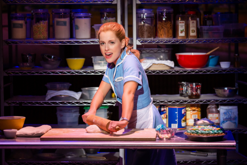 Waitress tells the story of Jenna, an expert pie maker in a small town, who dreams of a way out of her loveless marriage
