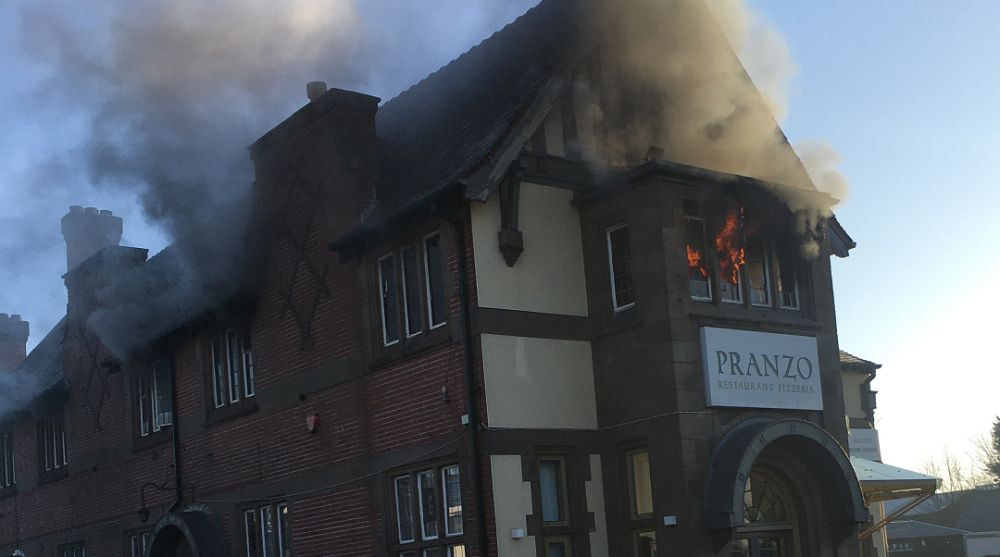 Chef escapes with life after fire at Sparkhill restaurant