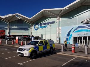 CORONAVIRUS: Mortuary set up at Birmingham Airport underway as death toll expected to rise
