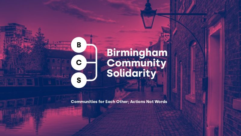 Birmingham Community Solidarity has formed to help the most vulnerable during coronavirus crisis